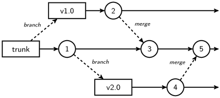 Multiple release branches